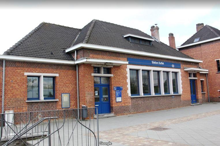 Duffel - Het treinstation in Duffel.