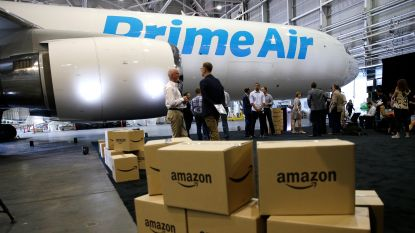 Vrachtvliegtuig van Amazon Prime Air neergestort in Texas