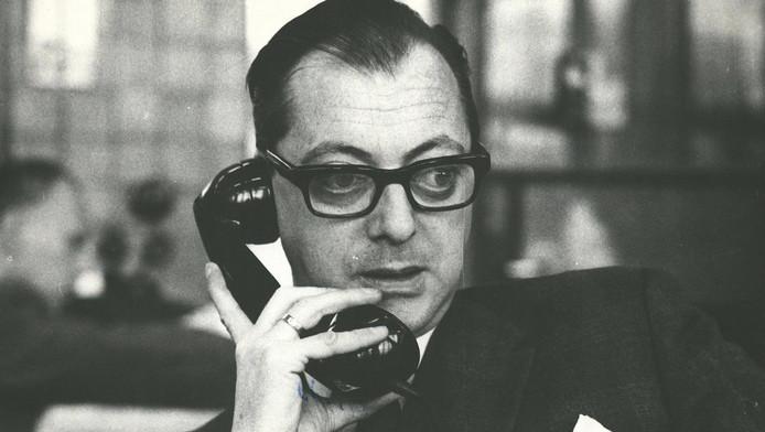 Steinmetz op de redactie van Het Parool in 1965