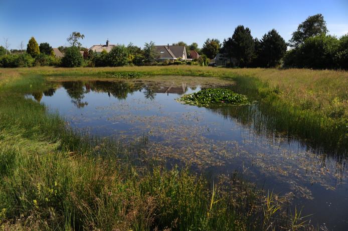 Woningen in Nieuw-Haamstede. Door de stikstofcrisis zit de Kop van Schouwen op slot voor woningbouw.