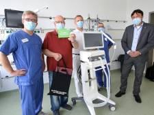 Eddy (63) bedankt Duitse artsen die hem redden van coronadood: 'Ik heb alleen vage herinneringen'
