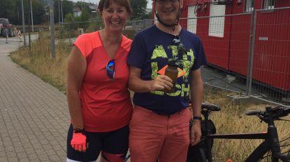 Karine en Geert fietsen voor goede doelen 2.500 kilometer naar Santiago