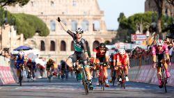 Bennett scoort hattrick in slotetappe Giro, eindzege Froome komt niet meer in gevaar