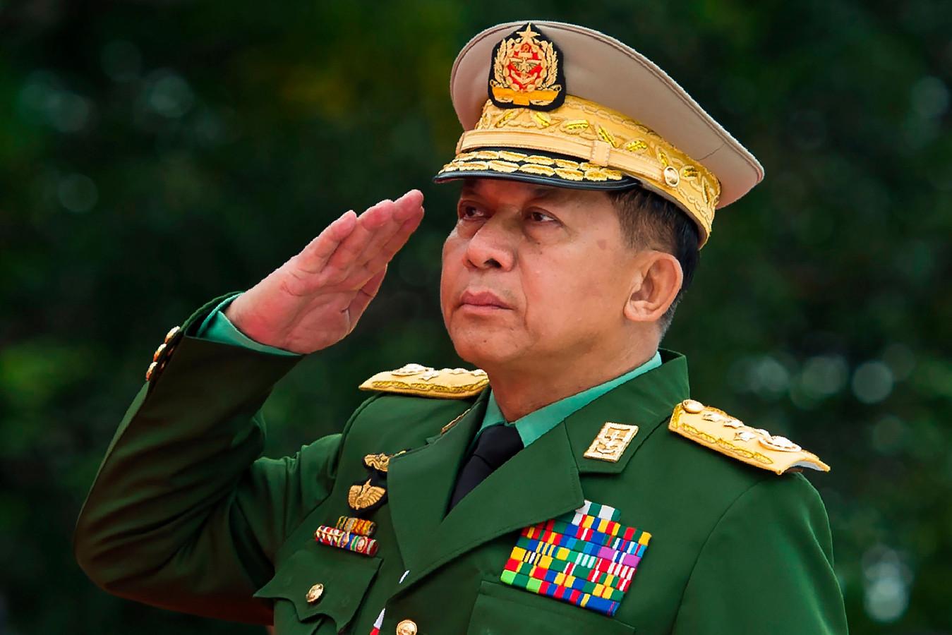 Generaal Min Aung Hlaing.