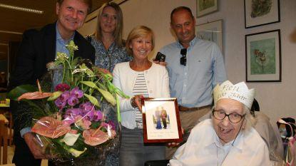 Zuster Fien viert 100ste verjaardag