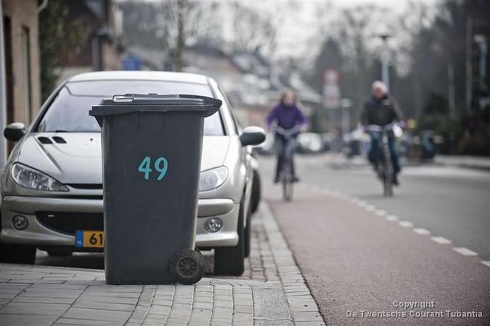 De invoering van diftar zal ertoe leiden dat de grijze Otto voor het restafval minder vaak aan straat zal worden gezet.