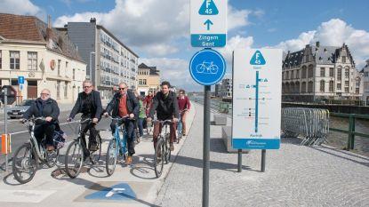"""Milieuvereniging Stichting Omer Wattez doet de test: """"F45 tussen Oudenaarde en Gent is geen echte fietssnelweg"""""""