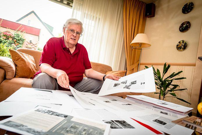 Frans van Es dook in de bevolkingsregisters, las veel over die tijd en sprak met ouderen.