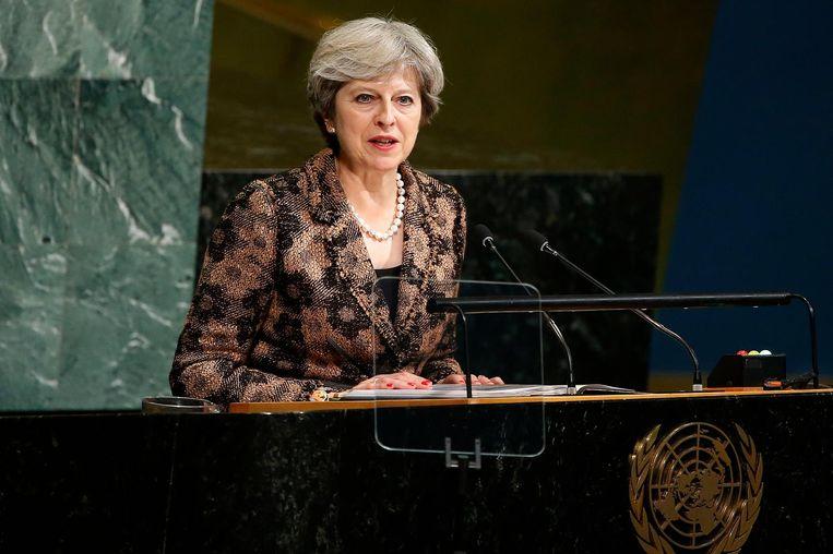Theresa May Beeld ap