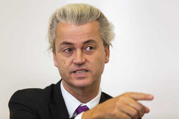 PVV-leider Geert Wilders Beeld reuters