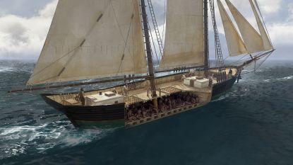 Laatste slavenschip geeft schandelijke geheimen prijs