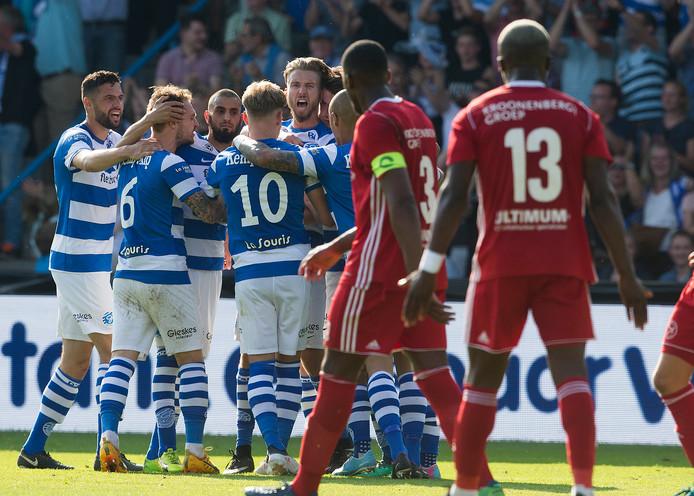 De Graafschap begint de eredivisie thuis tegen Feyenoord.