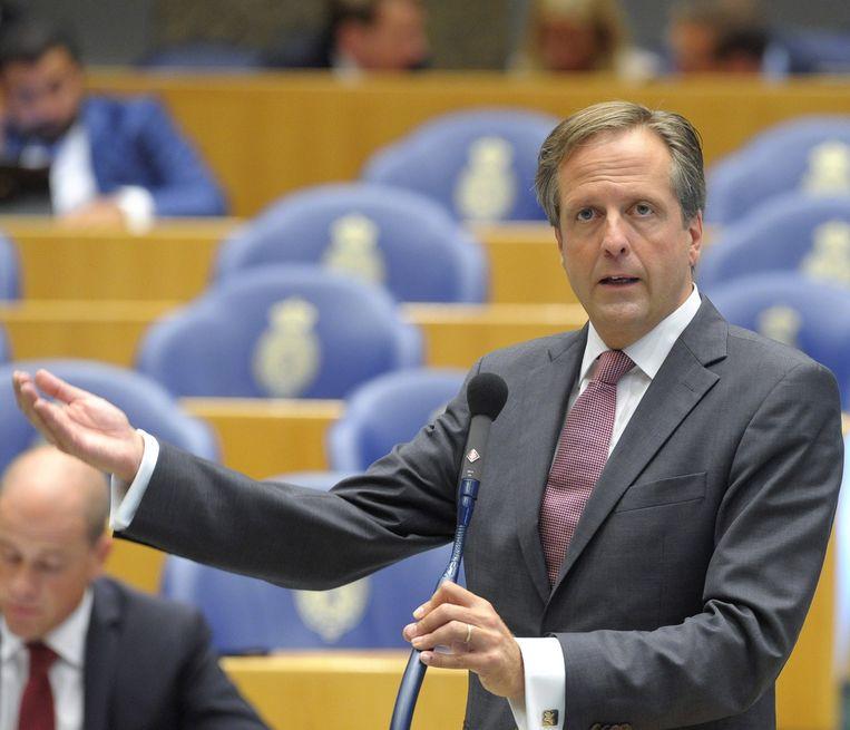 Alexander Pechtold van D66 Beeld anp