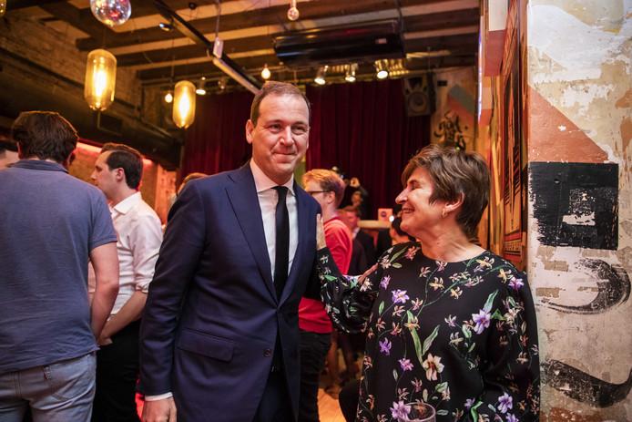 Lodewijk Asscher en Lilianne Ploumen
