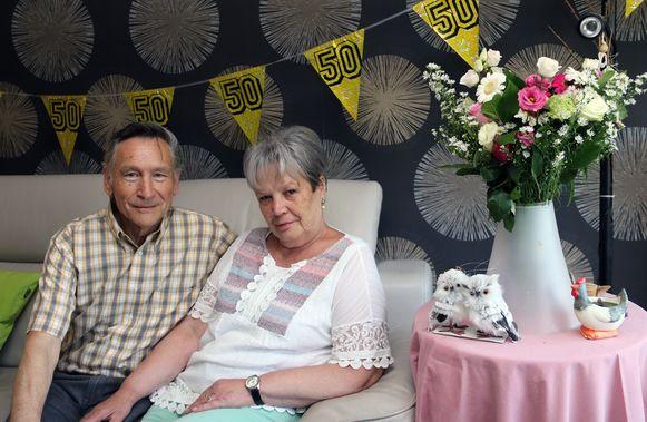 Marcel Geudens en Godelieve Janse zijn 50 jaar getrouwd.