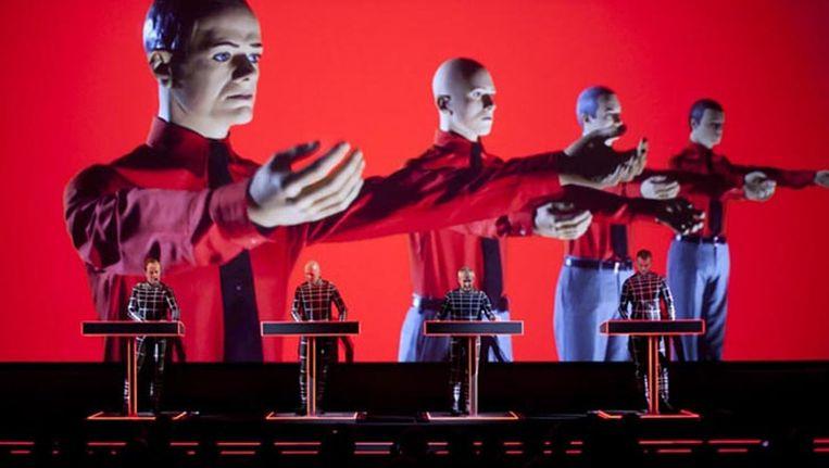 De Duitse band Kraftwerk Beeld