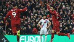LIVE. Daar is de 2-2 op Anfield! Crystal Palace komt op gelijke hoogte na rake kopbal Tomkins