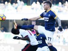 AC Milan hard onderuit bij laagvlieger Verona