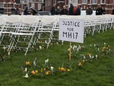 Demonstratie bij Russische ambassade voor MH17-slachtoffers