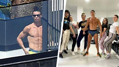 """""""Cristiano zei dat hij naar Portugal ging voor zijn zieke moeder, maar al wat hij er doet is foto's nemen aan het zwembad"""""""