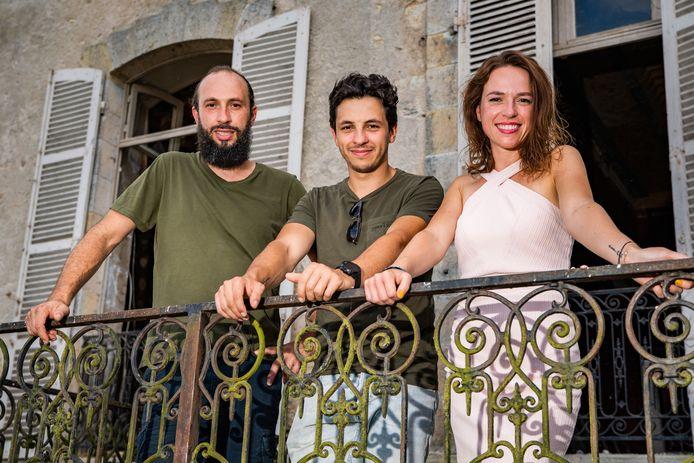 Château Planckaert: kinderen Francesco, Eddy Junior en Stephanie Planckaert -    !!! EMBARGO TOT 18 AUGUSTUS 2020 !!!