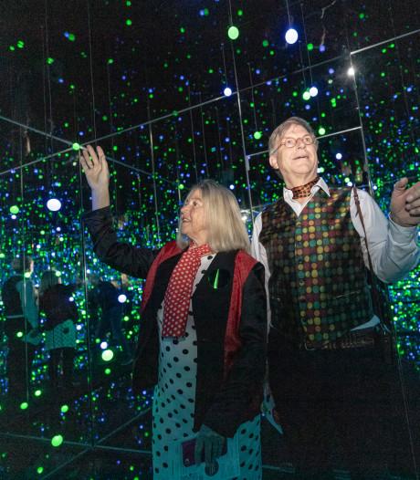 Wereldberoemde 'infinity room' van kunstenares Yayoi Kusama staat nu in Wassenaar