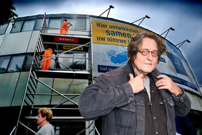 Columnist Kees Thies kan niet geloven dat projectontwikkelaar Van Pelt nog steeds niet begonnen is met de bouw van het appartementencomplex op de plek van het voormalige ANWB-pand in Dordrecht.