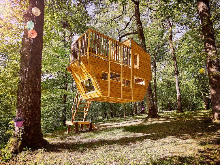 Een doorsnee boomhut kan vanaf 6.000 euro, voor de ultieme luxe betaal je makkelijk 80.000 euro.