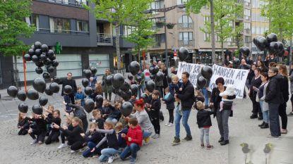 Leerlingen én ouders protesteren tegen schrappen Gemeentelijke Basisschool Rekem