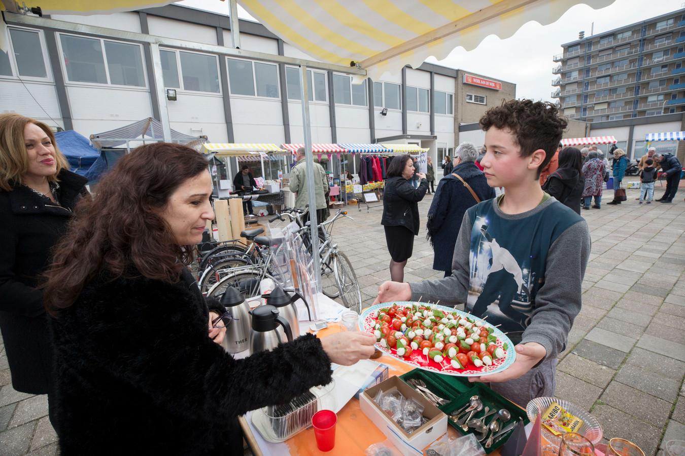 Feestelijke opening van het nieuwe pand van Werk aan de Wijk in Breda -Noord eerder dit jaar.