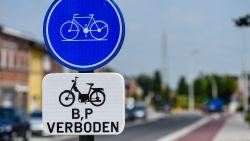 Universiteit Antwerpen test verwarmd fietspad