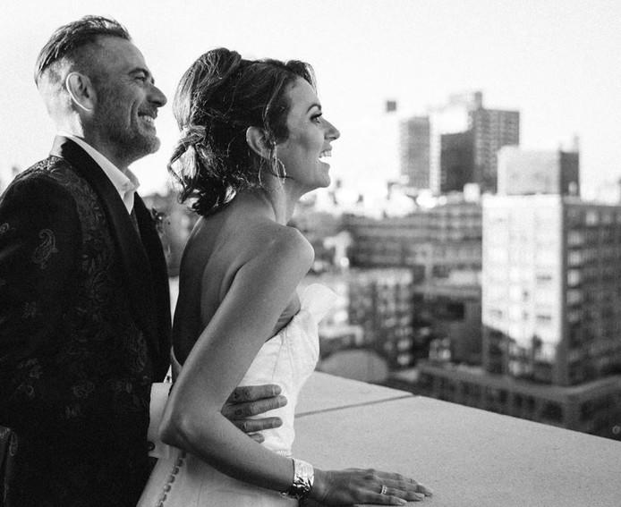 Les deux acteurs se sont mariés le 5 octobre dernier.