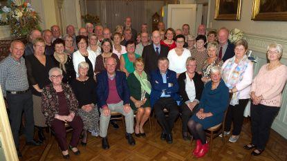 70-jarigen aan het feest in Temse