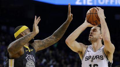 Toptransfer in NBA: sterspeler Pau Gasol ruilt San Antonio voor Milwaukee