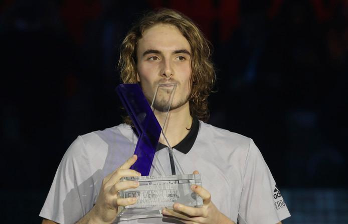 Stefanos Tsitsipas was vorig jaar de beste.