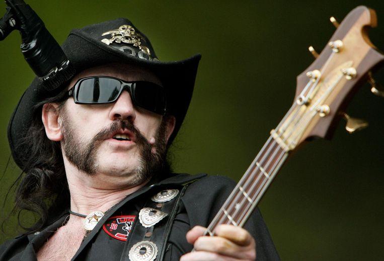 Lemmy, de ultieme ouwe rocker. Beeld anp