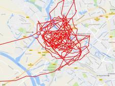 Politie zoekt met helikopter naar inbrekers in Zwolle