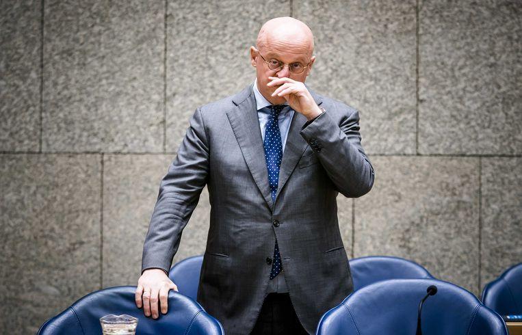 Minister Ferdinand Grapperhaus van Justitie en Veiligheid. Beeld ANP