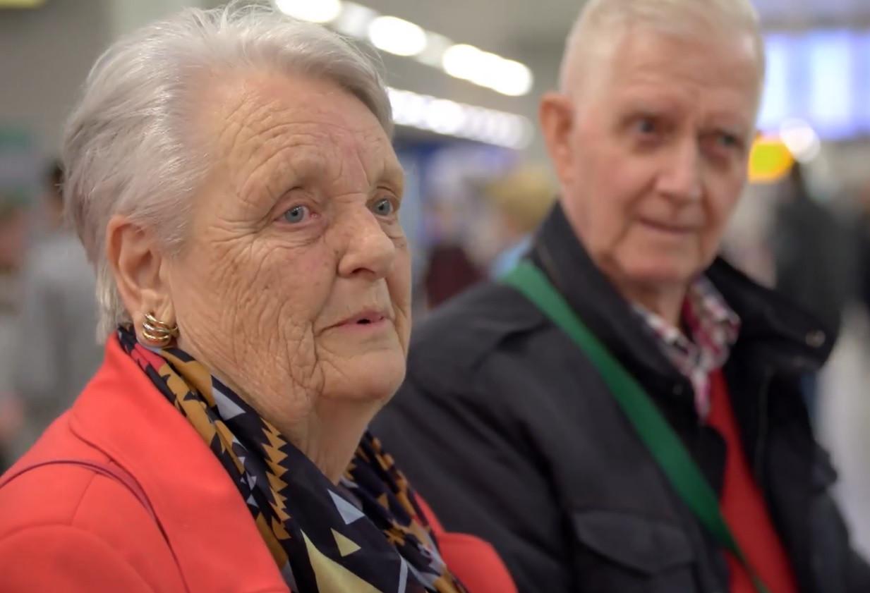 Jantina met haar man Gerard.