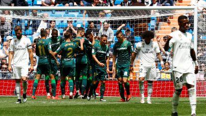 Football Talk Buitenland. Real sluit rampseizoen af met blamage - Juninho wordt sportief directeur bij Lyon
