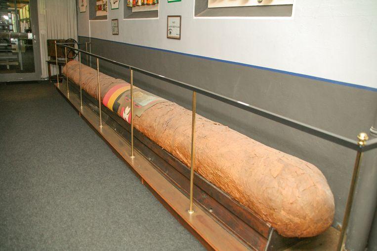 Deze maand wordt de 25ste verjaardag van de grootste sigaar ter wereld gevierd in het Pijp- en Tabaksmuseum.