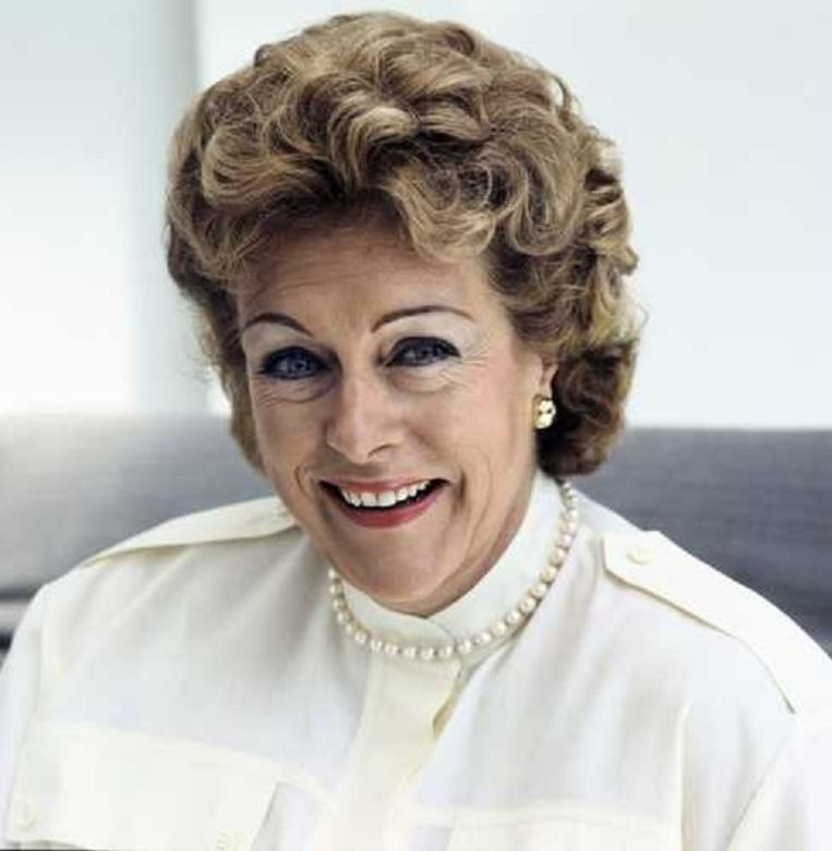Caroline Kaart in 1984. Beeld ANP