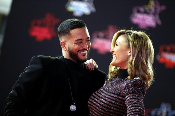 Slimane et Vitaa sur le tapis rouge des NRJ Music Awards.