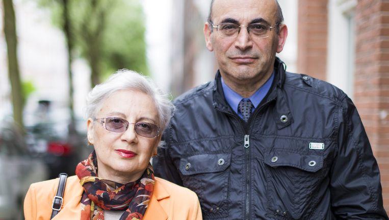 Leyla en Arif Yunus in De Pijp Beeld Eva Plevier