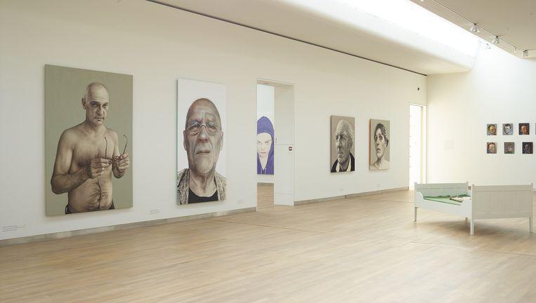 Een van de zalen van het op 1 juni te openen Museum voor Modern Realisme. Beeld Henk Wildschut