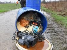Meeste drugsdumpingen van Oost-Nederland in Bommelerwaard