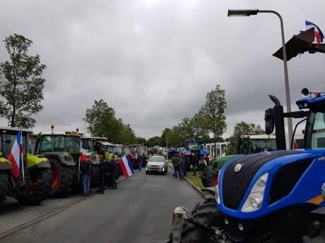 Boerenactie in Zwolle veroorzaakt lege schappen in de regio bij Albert Heijn-supermarkten