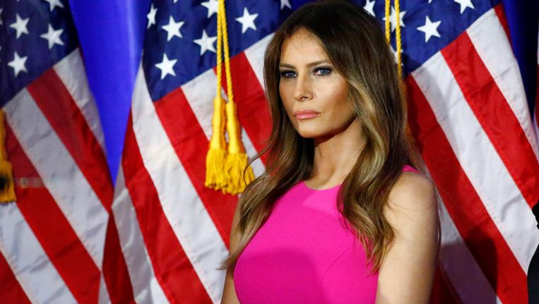 Melania Trump. Beeld null