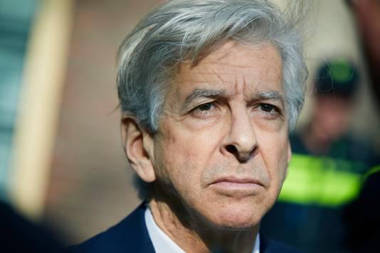 Demissionair minister Ronald Plasterk van Binnenlandse Zaken.