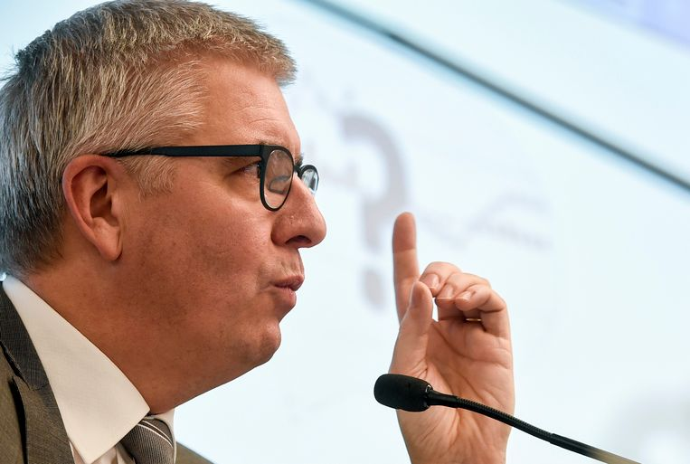 Gedelegeerd bestuurder van het VBO, Pieter Timmermans.